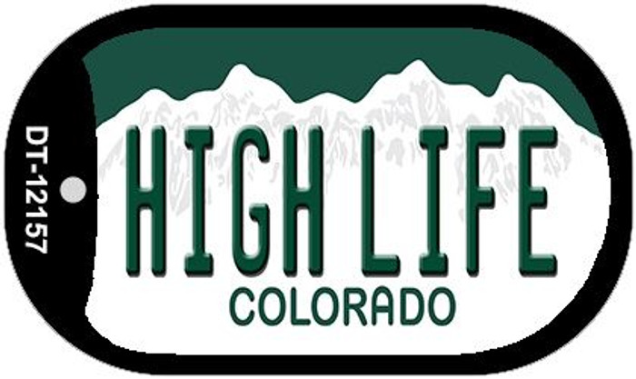 High Life Colorado Wholesale Novelty Metal Dog Tag Necklace DT-12157