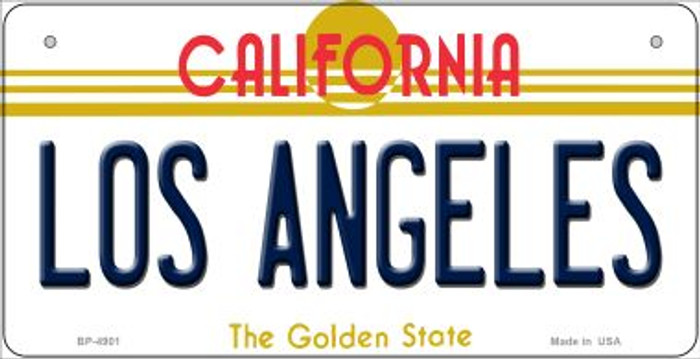 Los Angeles California Wholesale Novelty Metal Bicycle Plate BP-4901