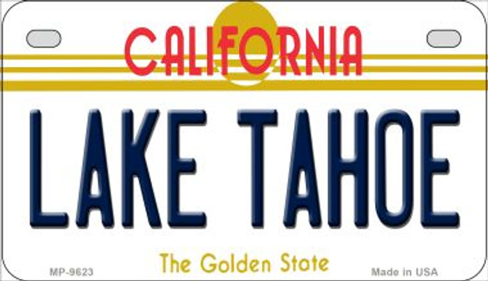 Lake Tahoe California Wholesale Novelty Metal Motorcycle Plate MP-9623