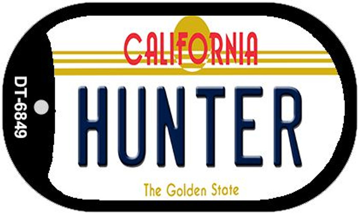 Hunter California Wholesale Novelty Metal Dog Tag Necklace DT-6849
