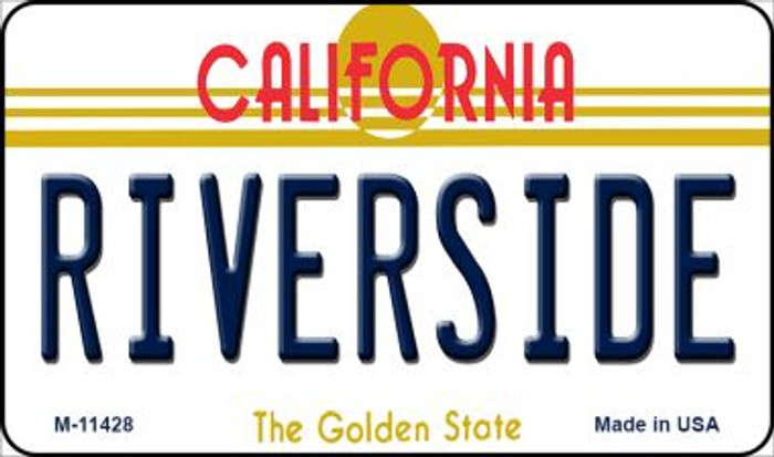 Riverside California Wholesale Novelty Metal Magnet M-11428