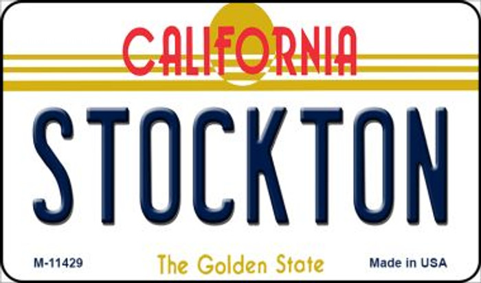Stockton California Wholesale Novelty Metal Magnet M-11429