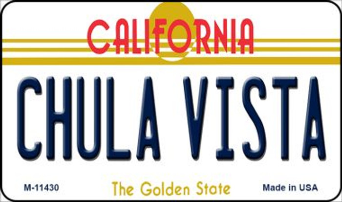 Chula Vista California Wholesale Novelty Metal Magnet M-11430
