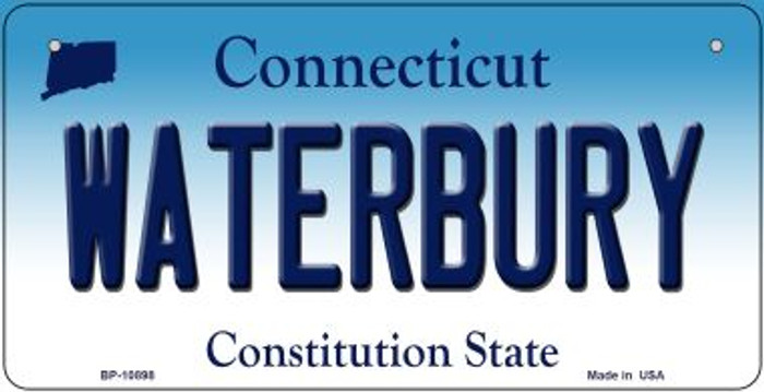 Waterbury Connecticut Wholesale Novelty Metal Bicycle Plate BP-10898