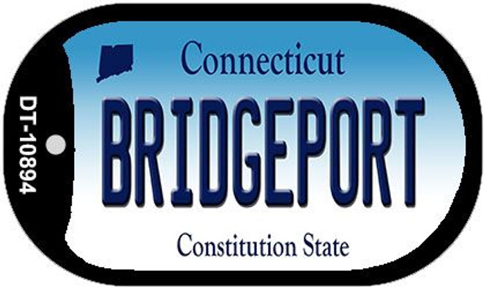 Bridgeport Connecticut Wholesale Novelty Metal Dog Tag Necklace DT-10894