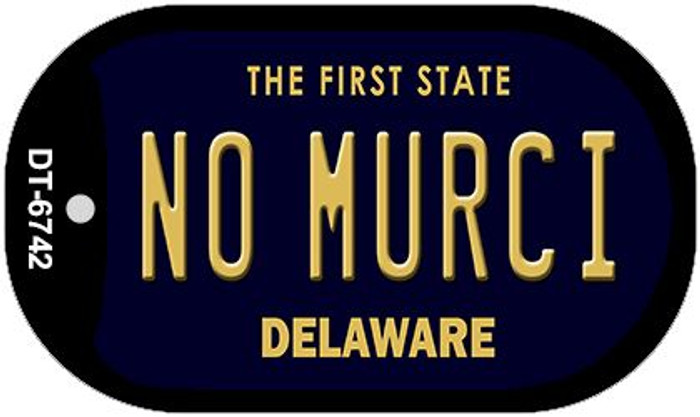 No Murci Delaware Wholesale Novelty Metal Dog Tag Necklace DT-6742