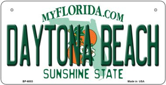 Daytona Beach Florida Wholesale Novelty Metal Bicycle Plate BP-6003