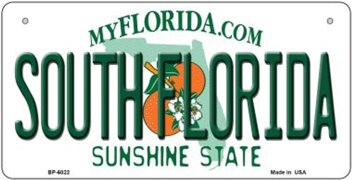 South Florida Wholesale Novelty Metal Bicycle Plate BP-6022