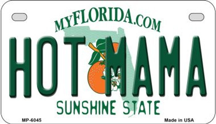 Hot Mama Florida Wholesale Novelty Metal Motorcycle Plate MP-6045