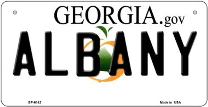 Albany Georgia Wholesale Novelty Metal Bicycle Plate BP-6142
