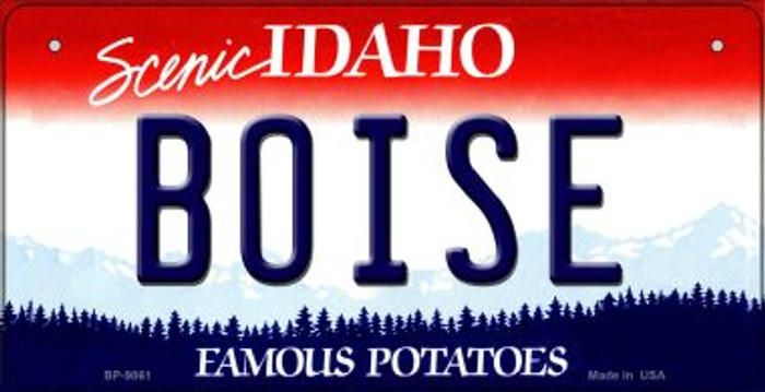 Boise Idaho Wholesale Novelty Metal Bicycle Plate BP-9861