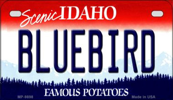 Bluebird Idaho Wholesale Novelty Metal Motorcycle Plate MP-9898