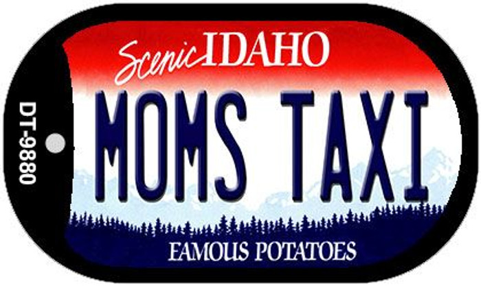 Moms Taxi Idaho Wholesale Novelty Metal Dog Tag Necklace DT-9880