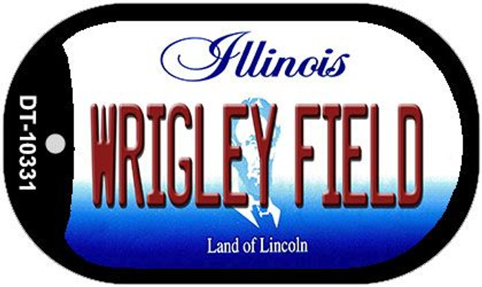 Wrigley Field Illinois Wholesale Novelty Metal Dog Tag Necklace DT-10331