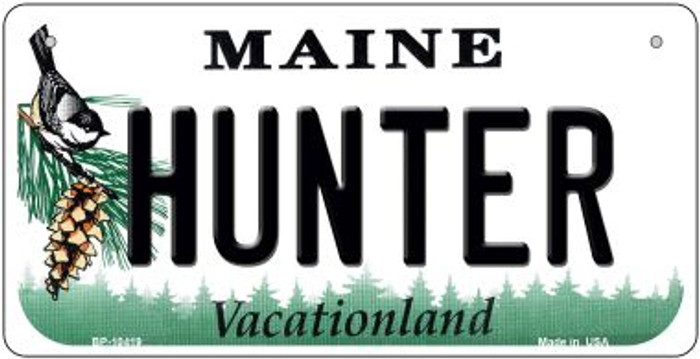 Hunter Maine Wholesale Novelty Metal Bicycle Plate BP-10419