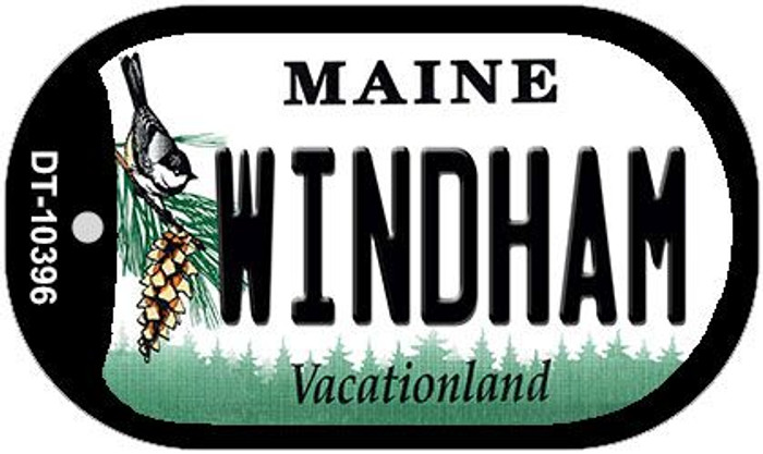 Windham Maine Wholesale Novelty Metal Dog Tag Necklace DT-10396