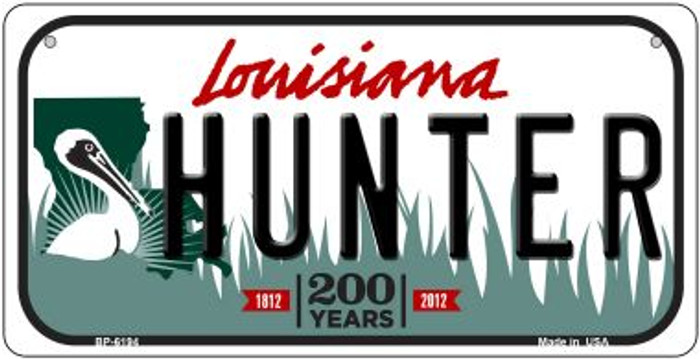 Hunter Louisiana Wholesale Novelty Metal Bicycle Plate BP-6194