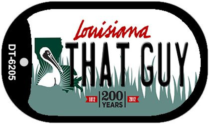 That Guy Louisiana Wholesale Novelty Metal Dog Tag Necklace DT-6205