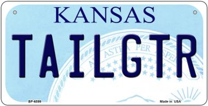Tailgtr Kansas Wholesale Novelty Metal Bicycle Plate BP-6599