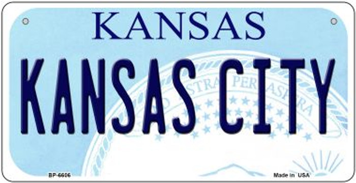 Kansas City Kansas Wholesale Novelty Metal Bicycle Plate BP-6606