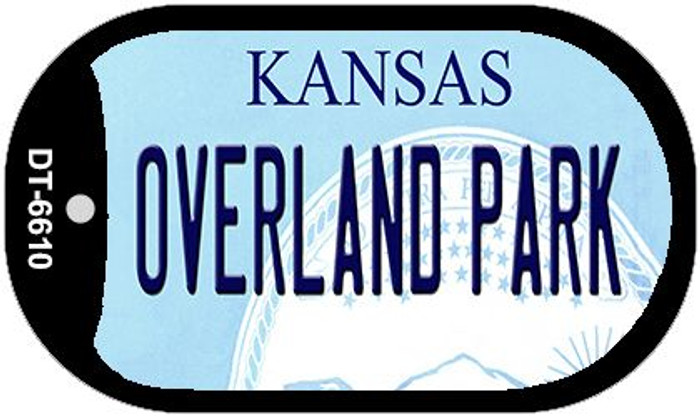 Overland Park Kansas Wholesale Novelty Metal Dog Tag Necklace DT-6610