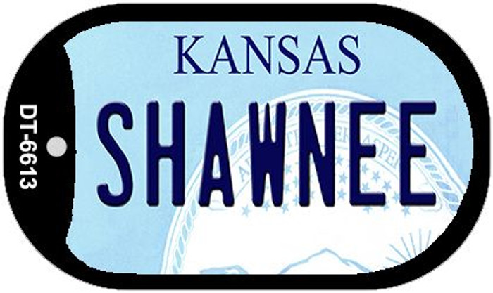 Shawnee Kansas Wholesale Novelty Metal Dog Tag Necklace DT-6613