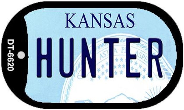 Hunter Kansas Wholesale Novelty Metal Dog Tag Necklace DT-6620