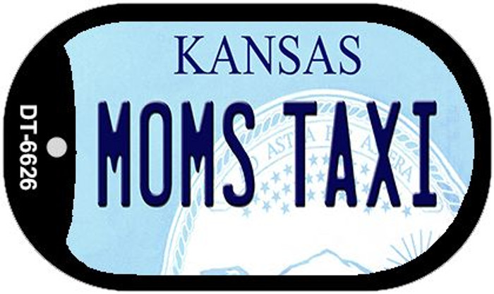 Moms Taxi Kansas Wholesale Novelty Metal Dog Tag Necklace DT-6626