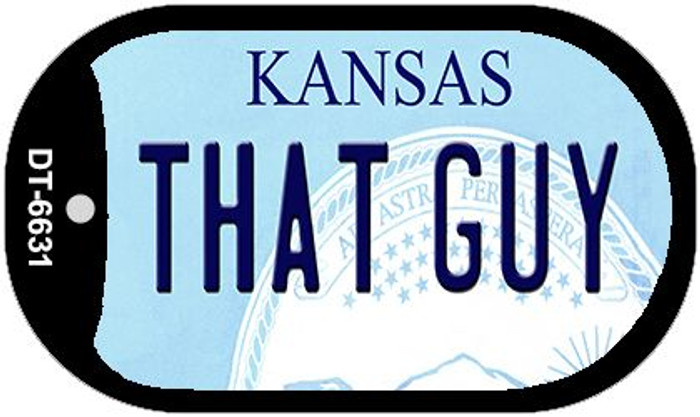 That Guy Kansas Wholesale Novelty Metal Dog Tag Necklace DT-6631