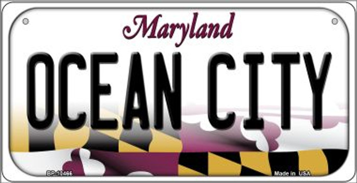 Ocean City Maryland Wholesale Novelty Metal Bicycle Plate BP-10466