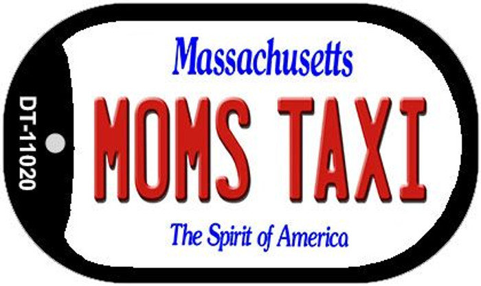 Moms Taxi Massachusetts Wholesale Novelty Metal Dog Tag Necklace DT-11020