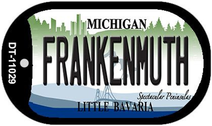 Frankenmuth Michigan Wholesale Novelty Metal Dog Tag Necklace DT-11029