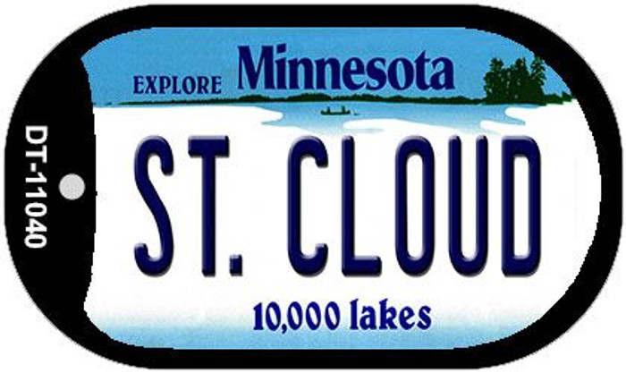 St Cloud Minnesota Wholesale Novelty Metal Dog Tag Necklace DT-11040