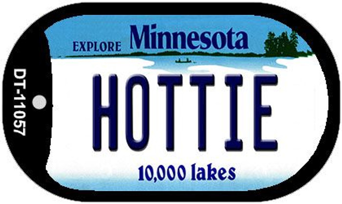 Hottie Minnesota Wholesale Novelty Metal Dog Tag Necklace DT-11057