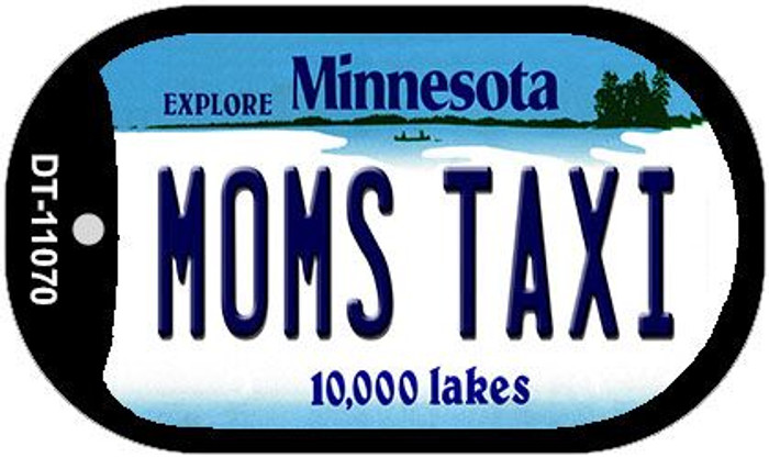 Moms Taxi Minnesota Wholesale Novelty Metal Dog Tag Necklace DT-11070