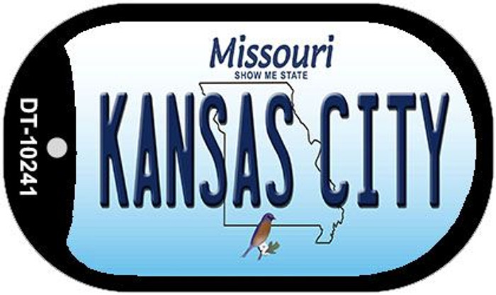 Kansas City Missouri Wholesale Novelty Metal Dog Tag Necklace DT-10241