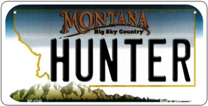 Hunter Montana Wholesale Novelty Metal Bicycle Plate BP-11122