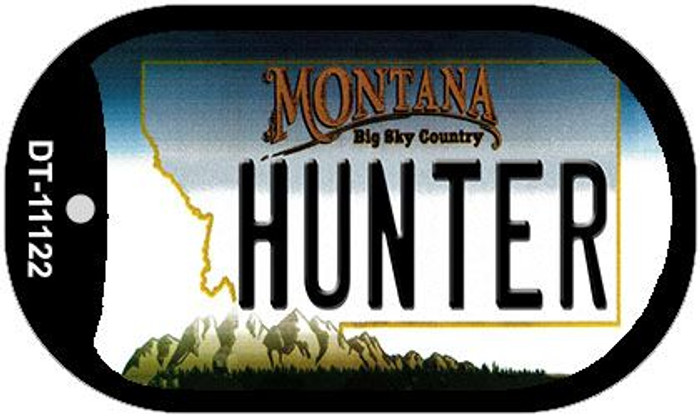 Hunter Montana Wholesale Novelty Metal Dog Tag Necklace DT-11122