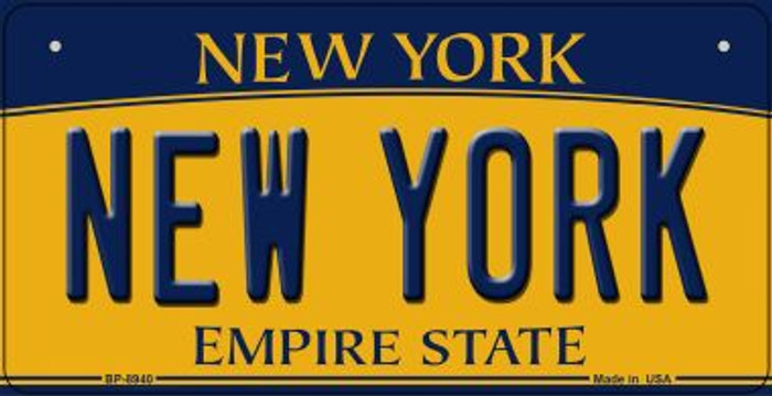 New York Wholesale Novelty Metal Bicycle Plate BP-8940