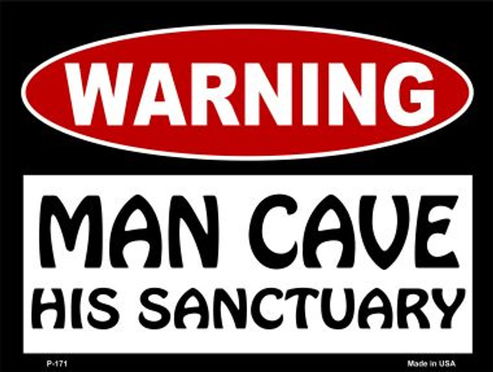 His Sanctuary Wholesale Metal Novelty Parking Sign P-171