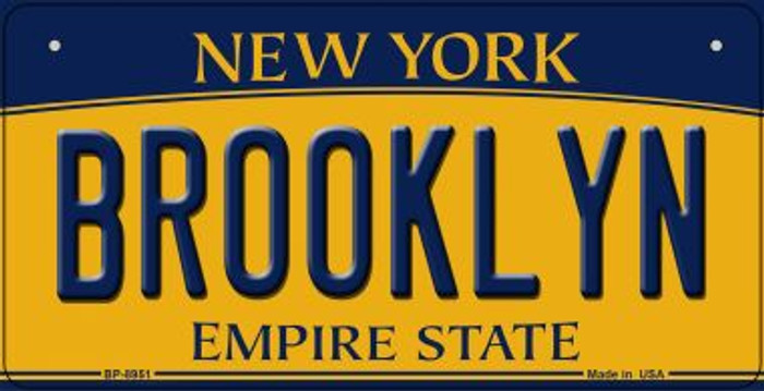 Brooklyn New York Wholesale Novelty Metal Bicycle Plate BP-8951