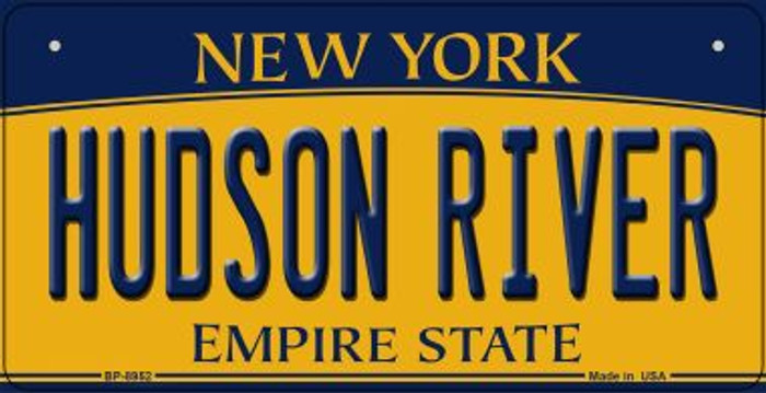 Hudson River New York Wholesale Novelty Metal Bicycle Plate BP-8952