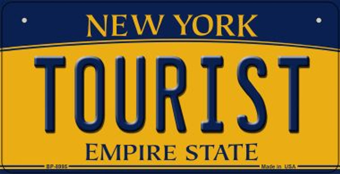 Tourist New York Wholesale Novelty Metal Bicycle Plate BP-8995