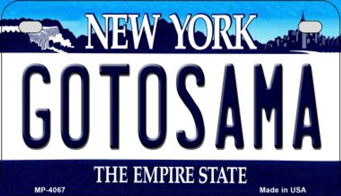 Central Park New York Wholesale Novelty Metal Motorcycle Plate MP-3549