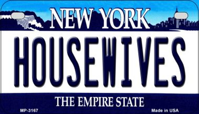 Housewives New York Wholesale Novelty Metal Motorcycle Plate MP-3167