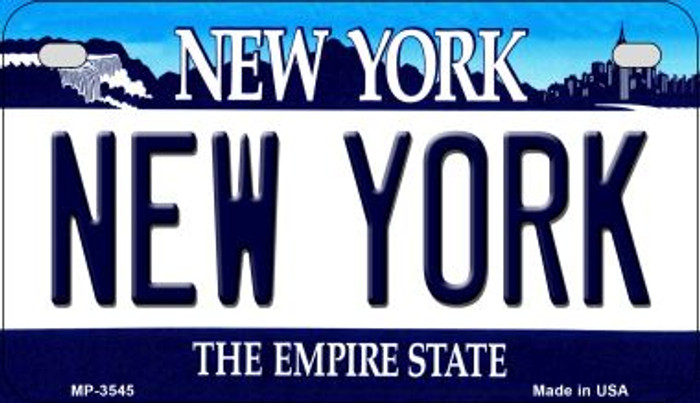New York Wholesale Novelty Metal Motorcycle Plate MP-3545
