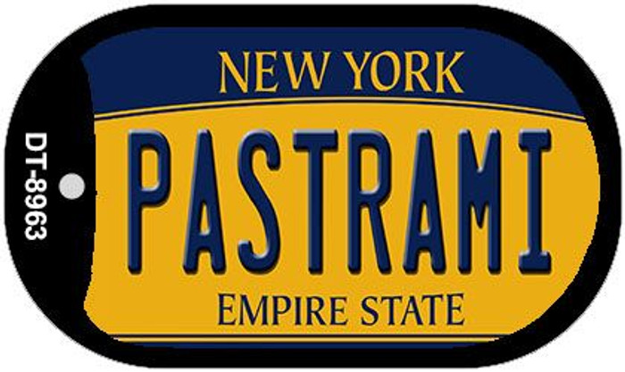 Pastrami New York Wholesale Novelty Metal Dog Tag Necklace DT-8963