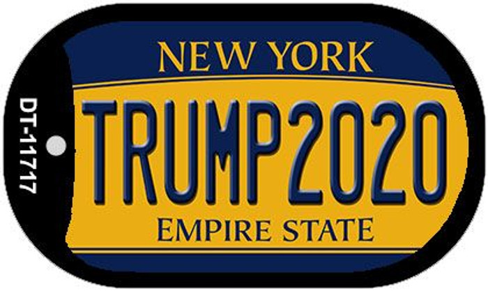 Trump2020 New York Wholesale Novelty Metal Dog Tag Necklace DT-11717
