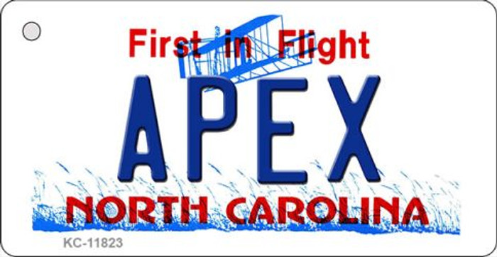 Apex North Carolina Wholesale Novelty Metal Key Chain KC-11823