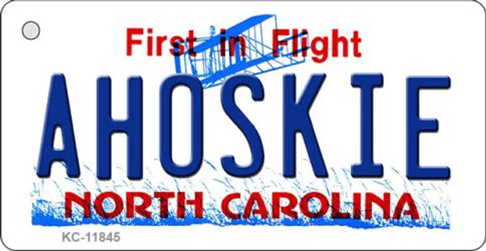 Ahoskie North Carolina Wholesale Novelty Metal Key Chain KC-11845